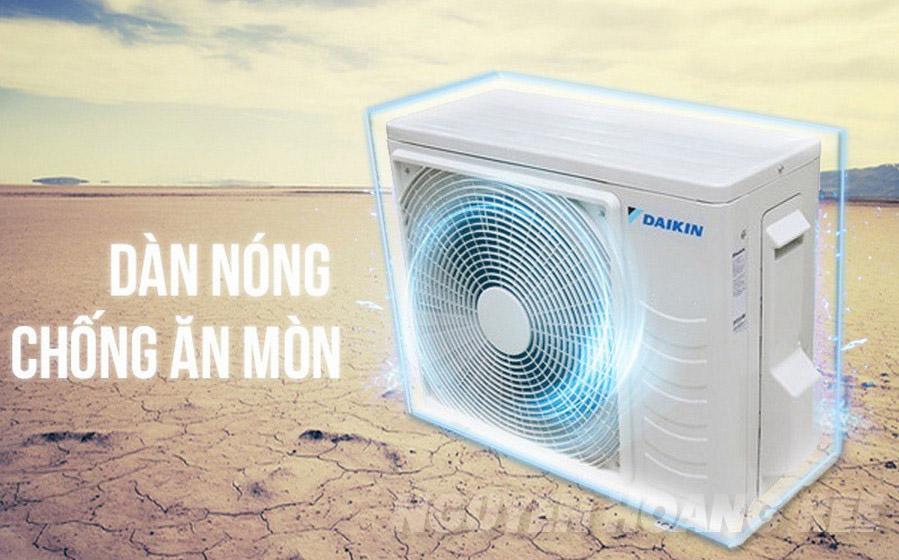 Dàn nóng chống bám bẩn, chống ăn mòn Máy lạnh Daikin Inverter FTKC60TVMV 2.5HP