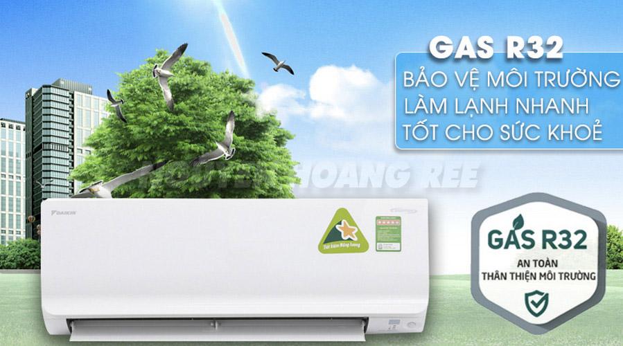 Máy lạnh Daikin Inverter FTKM35SVMV1.5 HP gas R32
