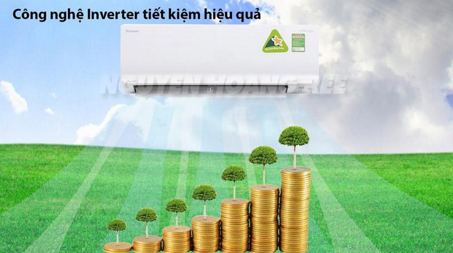 Máy lạnh Daikin siêu tiết kiệm điện - Nguyenhoang Ree Co., LTD