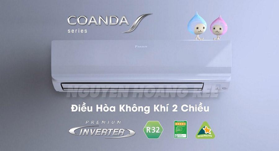 Máy lạnh Daikin Inverter FTKM50SVMV2.0 HP