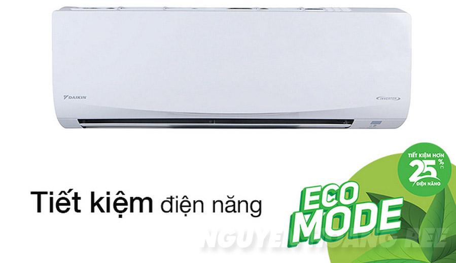Máy lạnh Daikin Inverter FTKQ35SVMV 1.5HP chế độ eco