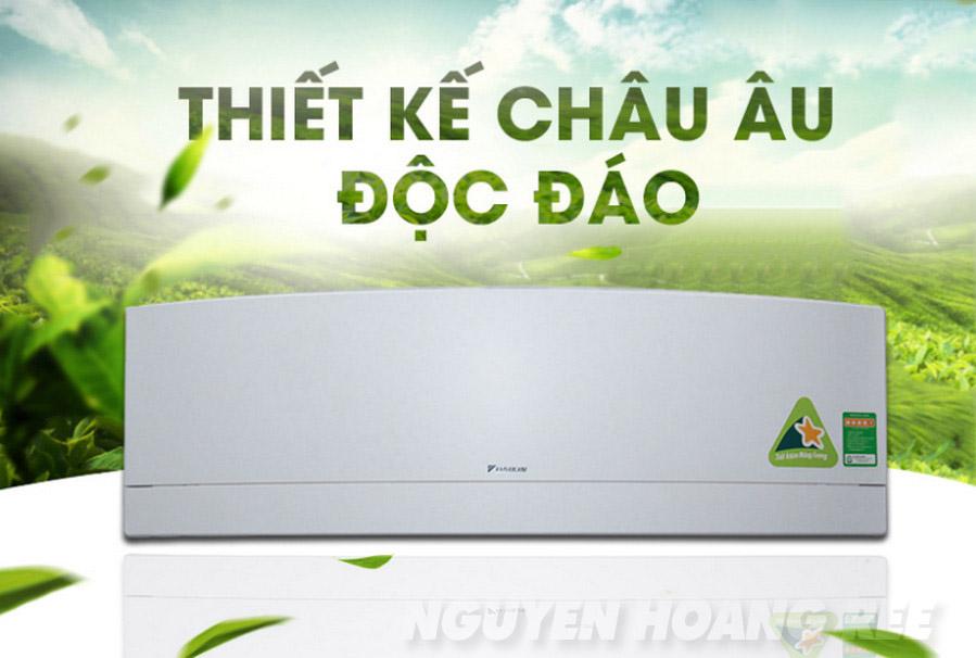 Máy lạnh Daikin FTKJ25NVMVW 1.0 HP thiết kế sang trọng