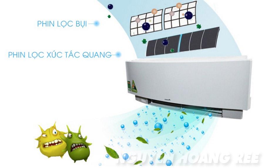 Máy lạnh Daikin FTKJ50NVMVW 2.0 HP phin lọc bụi