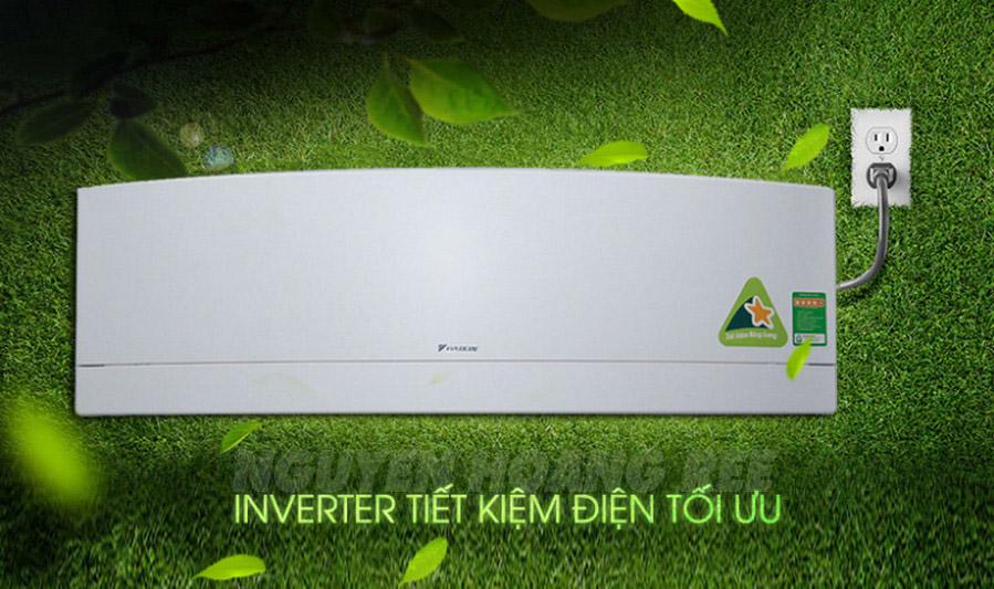 Máy lạnh Daikin FTKJ50NVMVW 2.0 HP  công nghệ inverter tiết kiệm điện