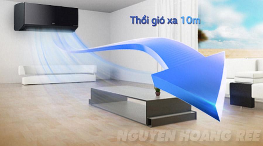 Máy lạnh LG V18BPB 2.0 HP thổi xa