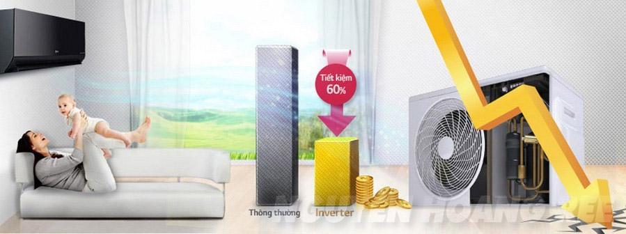 Máy lạnh LG V18BPB 2.0 HP inverter tiết kiệm điện