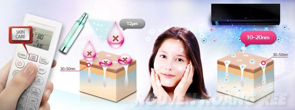 chế độ skin care chăm sóc da Máy lạnh LG V18BPB 2.0 HP