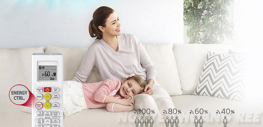 Máy lạnh LG Dual Inverter V24ENF2.5HP