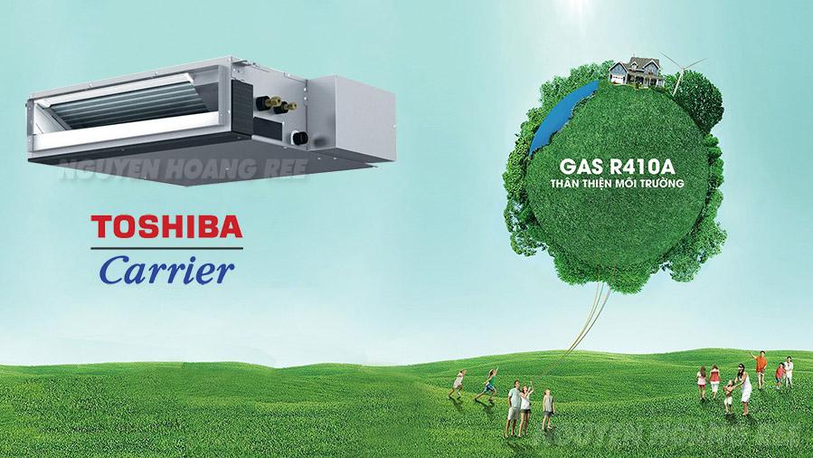 máy lạnh toshiba gas R410A