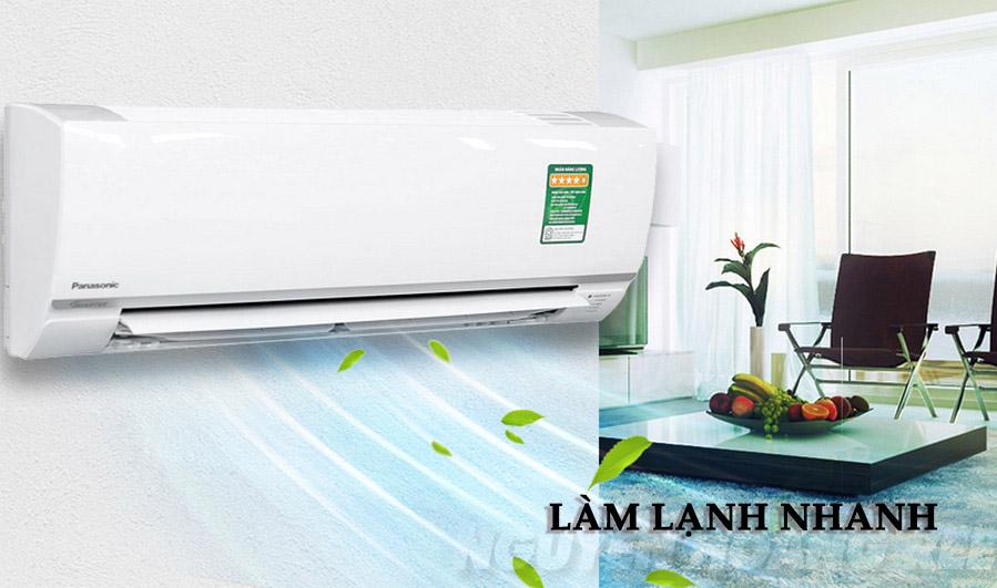 Máy lạnh Panasonic CU/CS-N18UKH-8 2.0HP làm lạnh nhanh