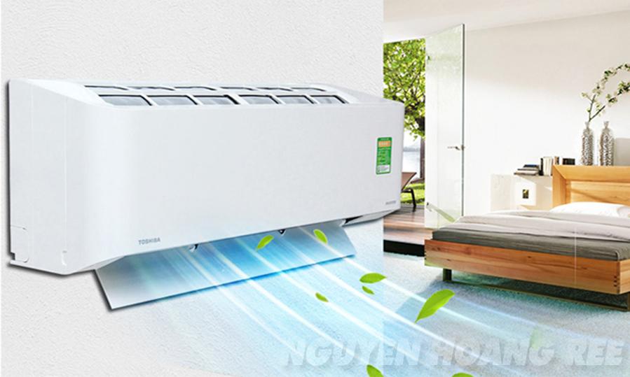 máy lạnh Toshiba Non Inverter - Máy lạnh Toshiba 1,5 HP RAS-H18QKSG-V