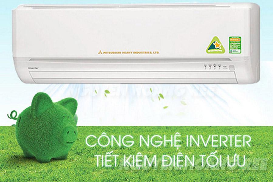 Máy lạnh Mitsubishi Heavy Inverter SRK10YL-S5 tiết kiệm điện năng