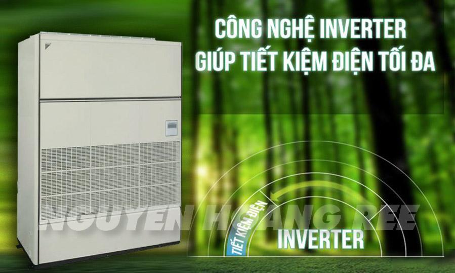 Tủ đứng nối ống gió Daikin FVPGR13NY1/RUR13NY1tiết kiệm điện năng