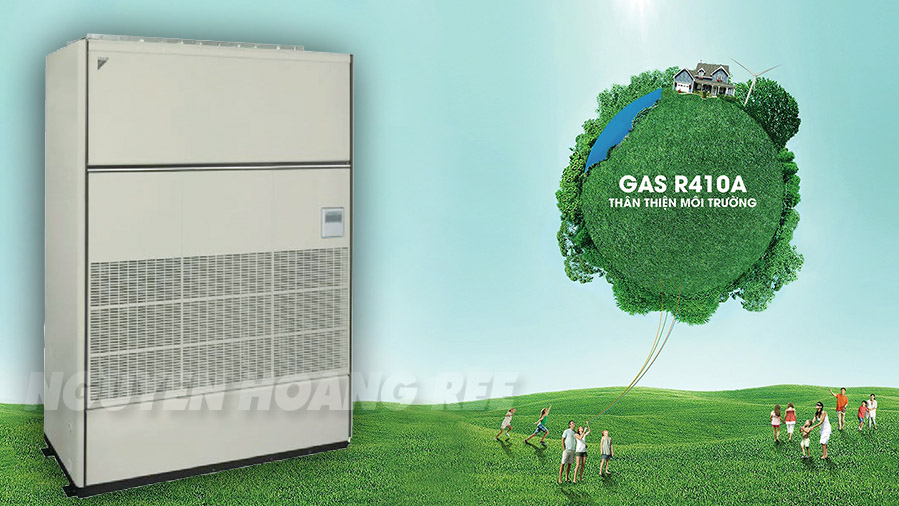 tủ đứng package Daikin 12.0HP gas R410A