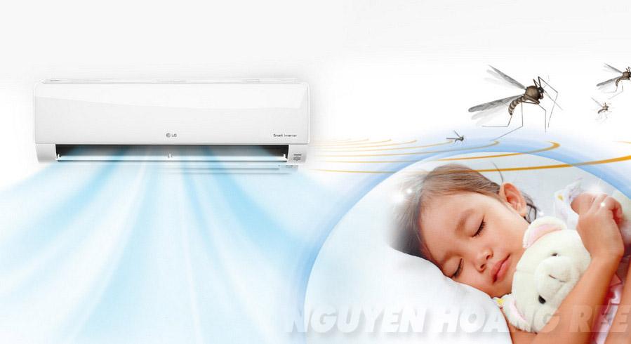 Máy lạnh LG Smart Inverter V13APR 1.5HP  đuỗi muỗi