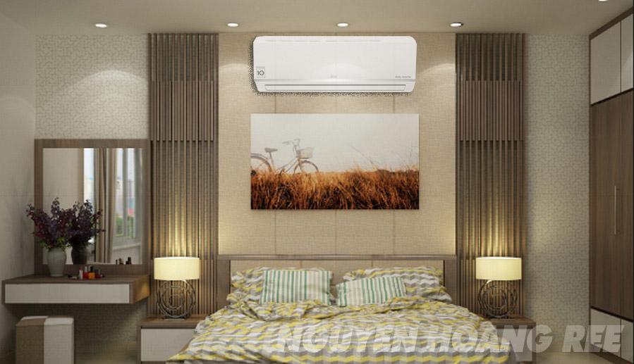 Máy lạnh LG Dual Inverter V10ENV1.0HP tiết kiệm điện