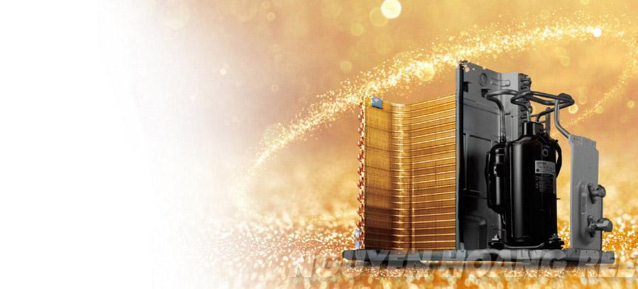 Máy lạnh LG Dual Inverter V10ENV1.0HP dàn nóng ống đồng