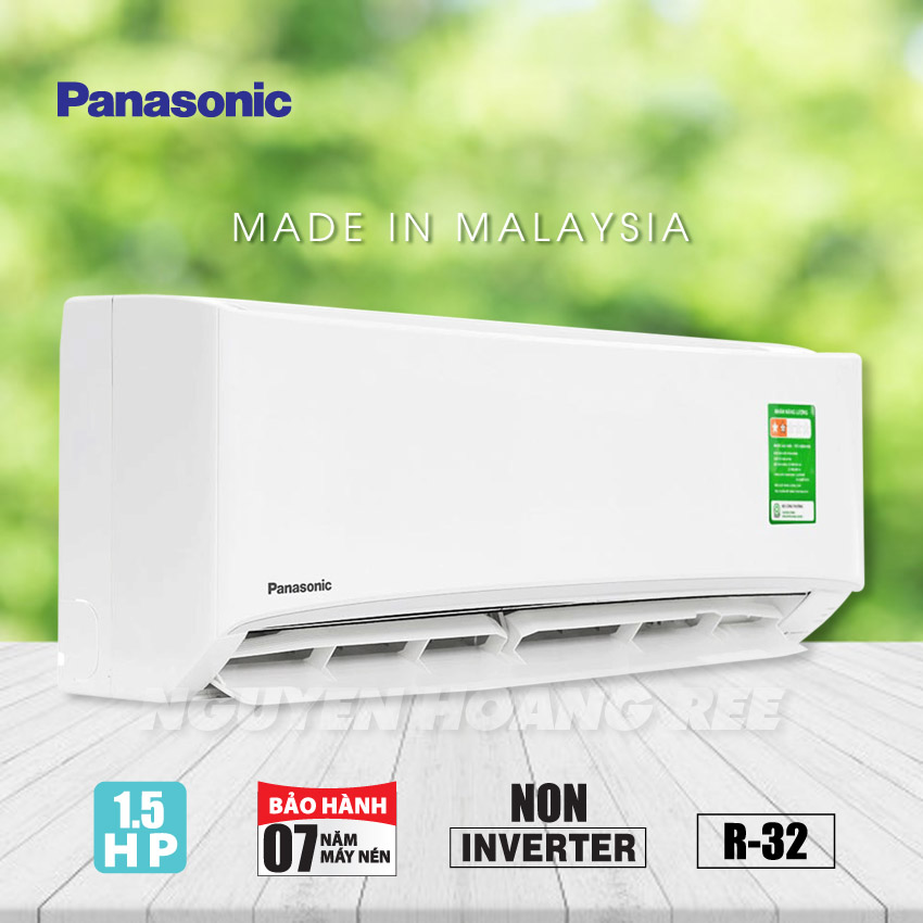 Máy lạnh Panasonic CU/CS-N12UKH-8 [ Non Inverter - New ]
