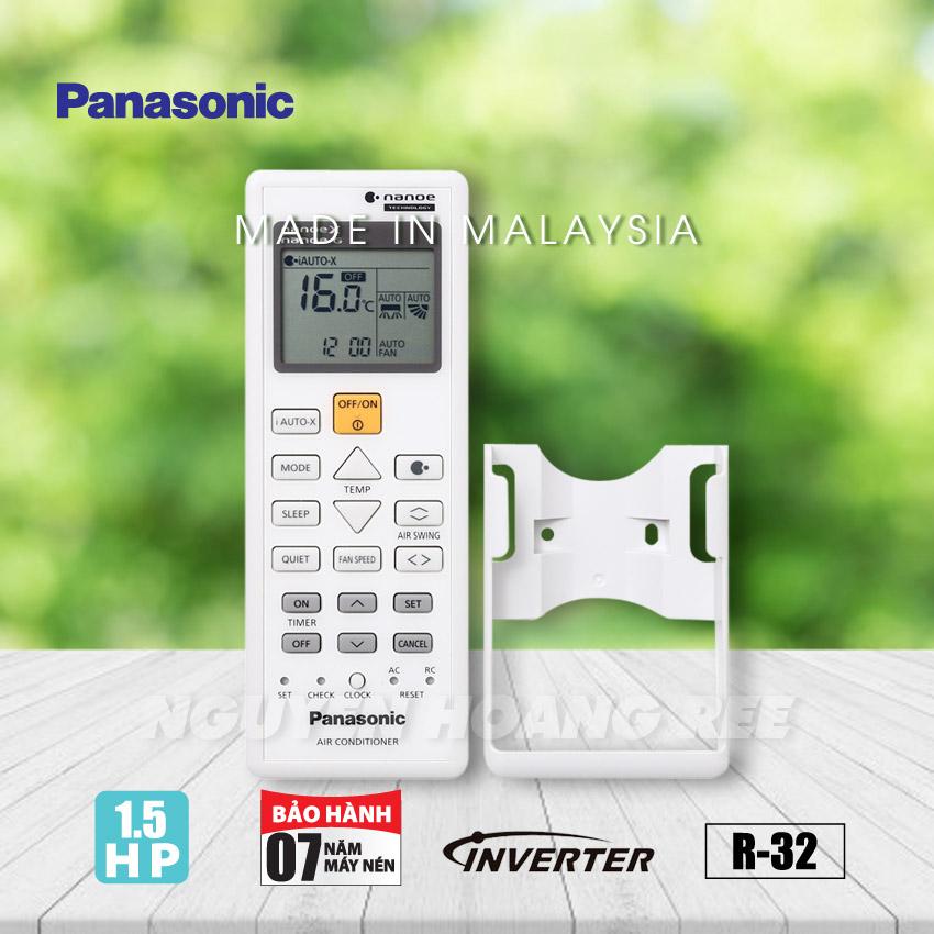 Máy lạnh Panasonic 1 5HP Inverter CU/CS-U12TKH-8
