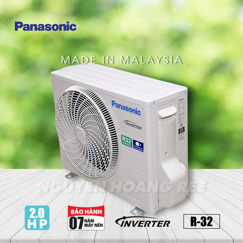Máy lạnh Panasonic Inverter 2.0HP CU/CS-XU18UKH-8 - New Model
