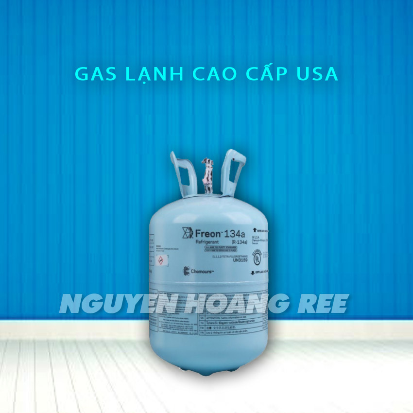 Gas R134A Chermours USA 13.6 Kg