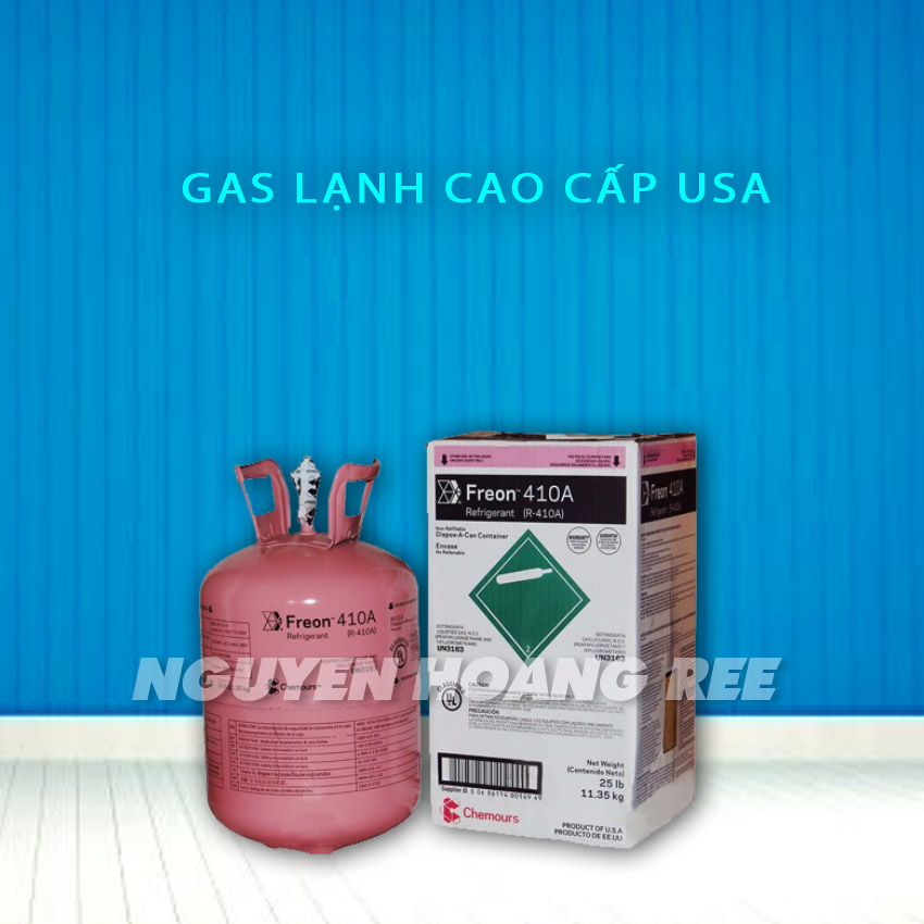 Gas R410A Chermours USA 11.3 Kg