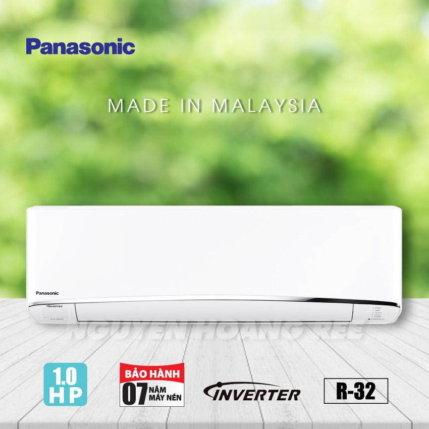 Máy lạnh Panasonic Inverter 1.0HP   CU/CS-XU9UKH-8 - New Model