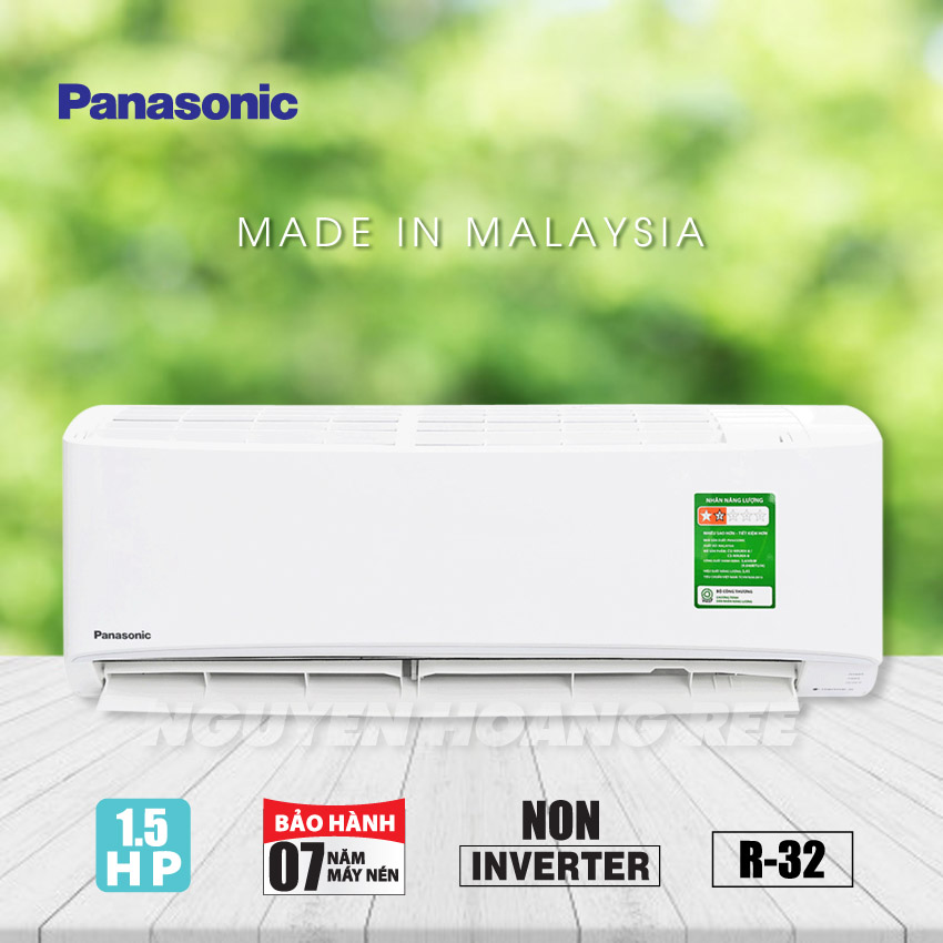 Máy lạnh Panasonic CU/CS-N12VKH-8 [ Non Inverter - New ]
