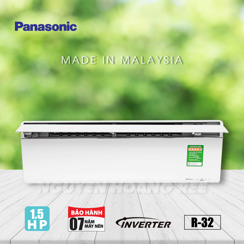 Máy lạnh Panasonic 1,5 HP Inverter CU/CS-VU12UKH-8 [Sky Series - New]