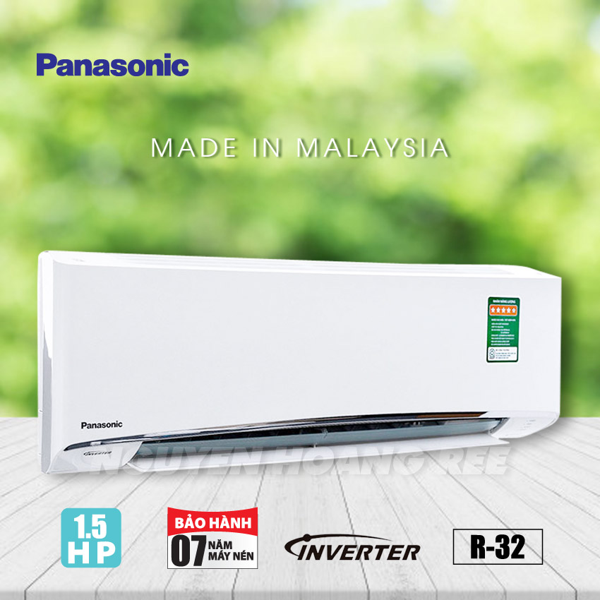 Máy lạnh Panasonic Inverter 1.5HP CU/CS-XU12UKH-8 - New Model